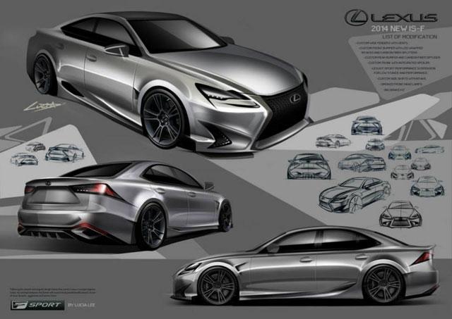Lexus IS Contest Second Place