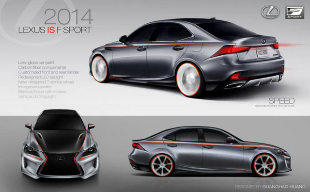 Lexus IS Contest Third Place