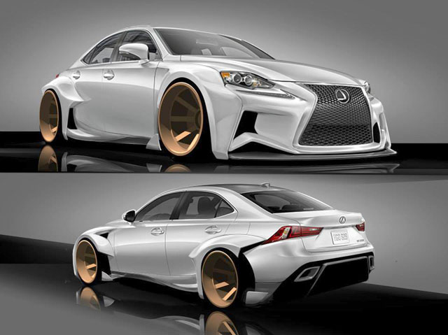 Lexus IS Contest Winner