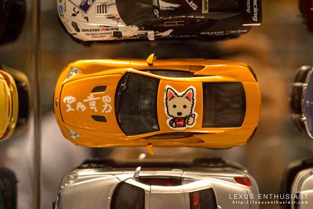 Akio Toyoda's Signed Lexus LFA