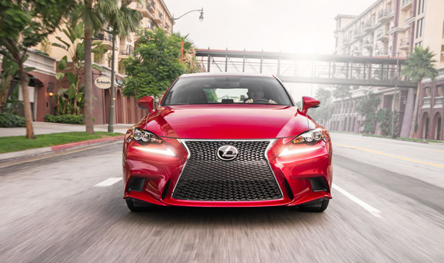 Lexus IS 350 F SPORT Front