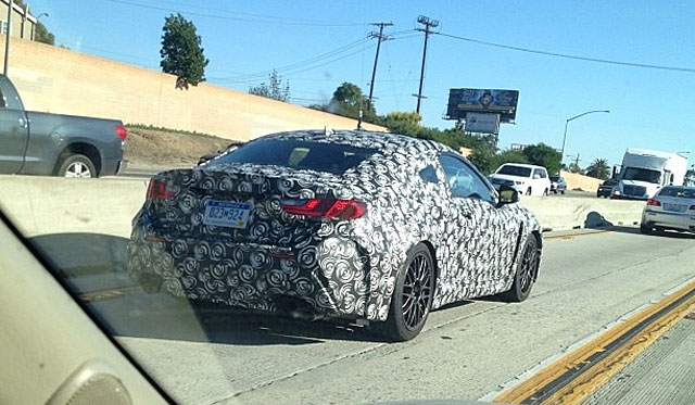 Lexus RC F Spotted in California