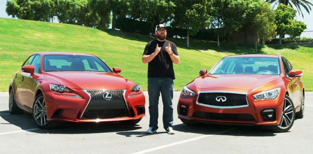 Motor Trend Comparison: Lexus IS 350 F SPORT vs Infiniti Q50 S