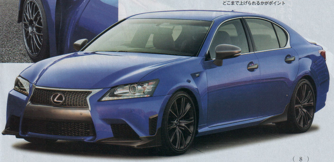 Lexus GS F Coming Soon
