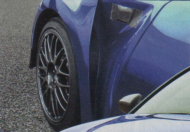 Lexus GS F Spotted Vents