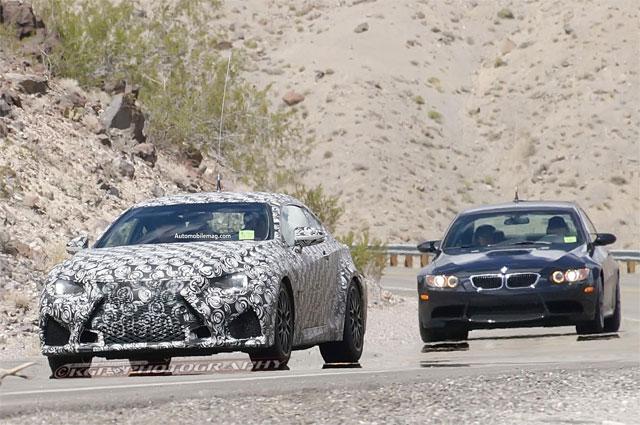 Lexus RC F with BMW M3