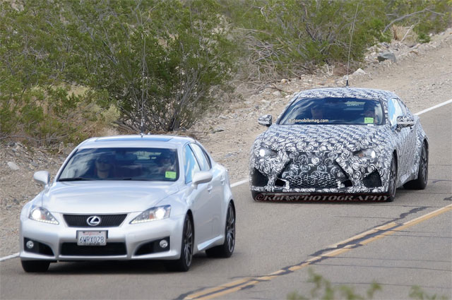 Lexus RC F with IS F