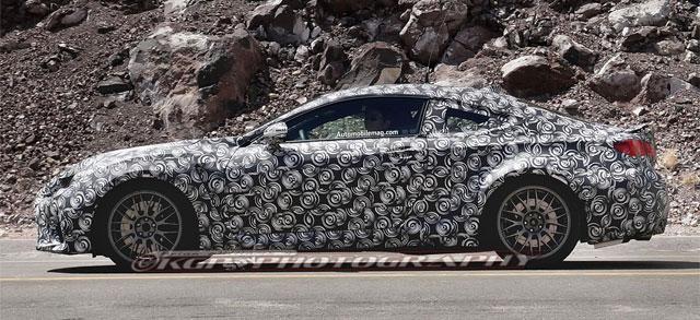 Lexus RC F Prototypes