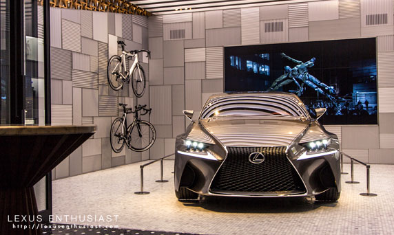 Lexus INTERSECT First Floor