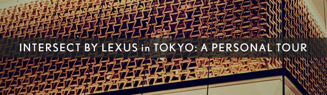 Lexus INTERSECT PERSONAL TOUR
