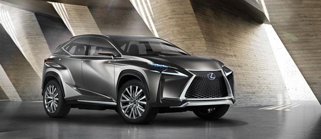 Lexus LF-NX Angle