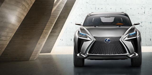 Lexus LF-NX Front