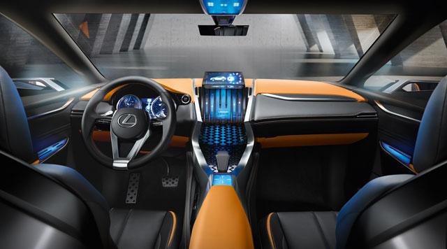 Lexus LF-NX Interior