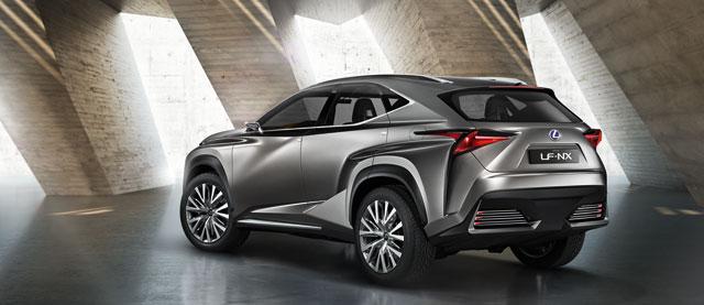 Lexus LF-NX Concept Rear