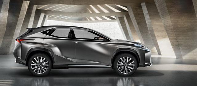 Lexus LF-NX Concept Side