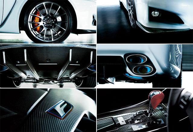 Lexus IS F Special Edition Upgrades