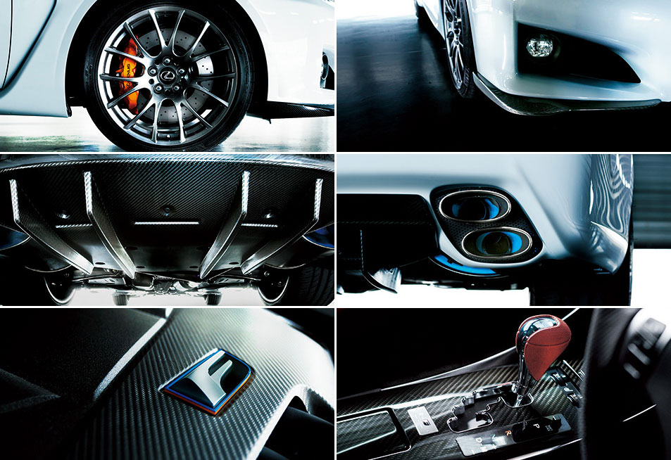 lexus is f special edition upgrades. Black Bedroom Furniture Sets. Home Design Ideas
