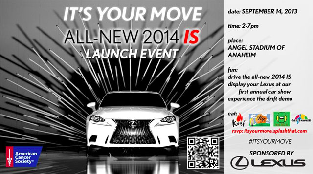 Event Its Your Move Lexus Car Show In Anaheim Lexus Enthusiast - Angel stadium car show