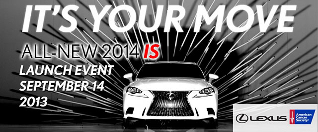 Lexus It's Your Move Event in California