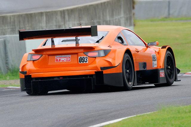 Lexus Super GT GT500 Rear