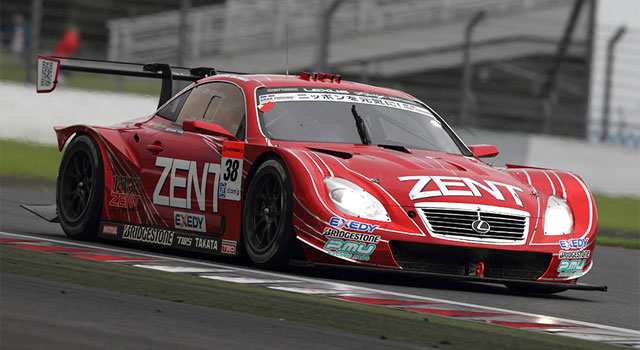 Lexus Win Super GT Round 6