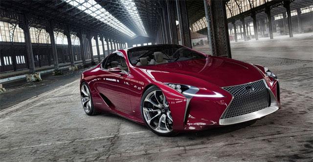 Lexus LF-LC Templin