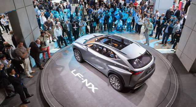 Lexus LF-NX Norway