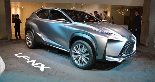 Lexus LF-NX Exterior Autoblog