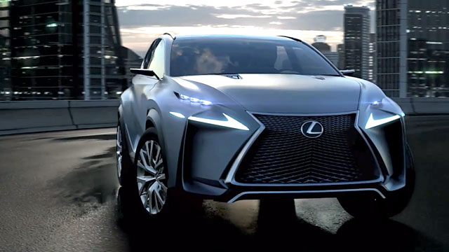 Lexus LF-NX Video
