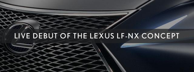 Lexus LF-NX Concept Debut