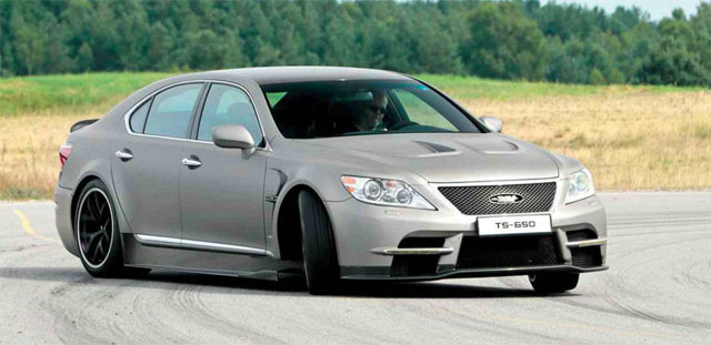 Lexus TS 650 Review by EVO