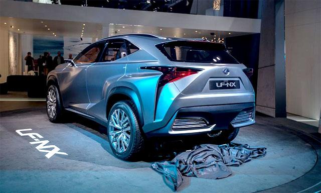 Lexus LF-NX Autoweek