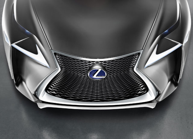 Lexus LF-NX Front Grille