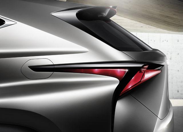 Lexus LF-NX Taillights