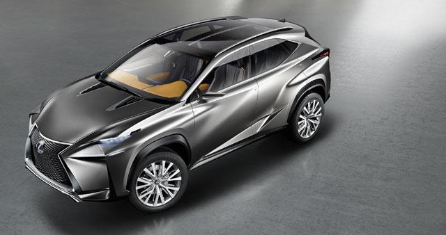 Lexus LF-NX Top Front
