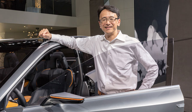 Lexus LF-NX Project Manager Takeshi Tanabe