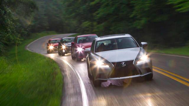 Lexus IS Road & Track Comparison