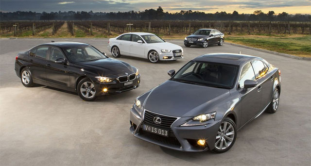 Lexus IS 250 in Drive Australia Comparison