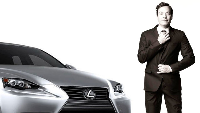 Lexus IS on Jimmy Fallon