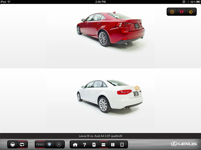 Lexus IS App Exterior