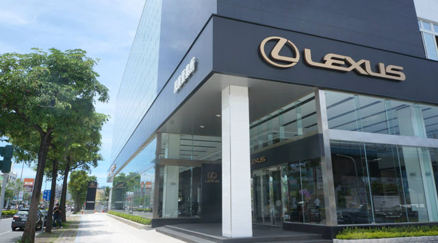 Lexus Showroom in Kaohsiung, Taiwan