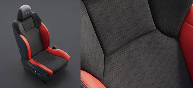 2014 Lexus IS F Read Alcantara Seats