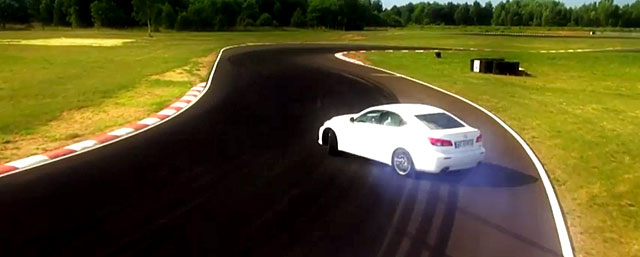 Lexus IS F vs. Ben Collins