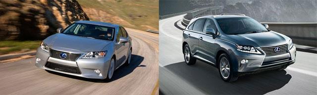 Lexus ES & Lexus RX