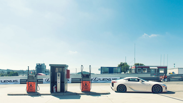 Lexus LFA Nürburgring