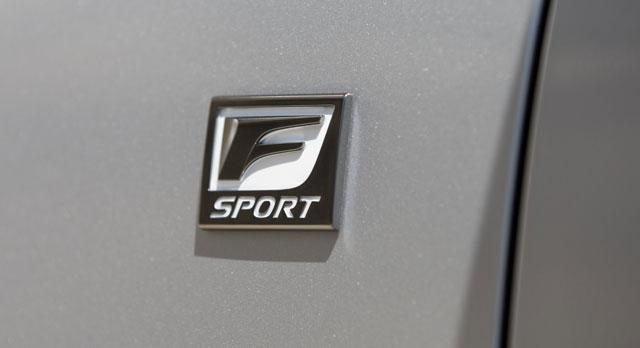 Lexus RX F SPORT Badge
