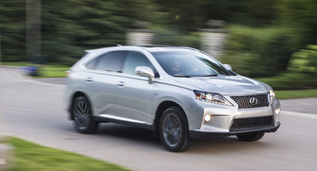 Lexus RX F SPORT Driving Two