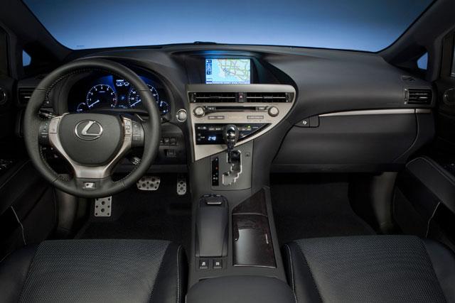 Lexus RX F SPORT Interior