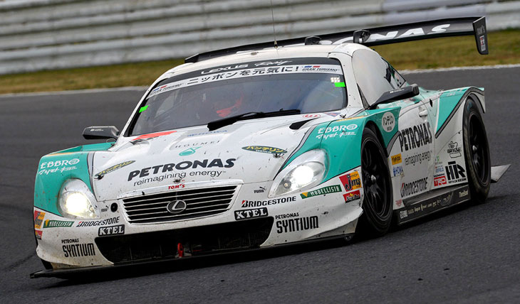 Lexus Super GT Petronas Winner