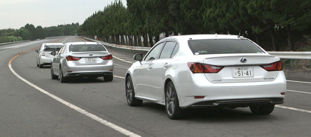Lexus Automated Highway Driving Assist